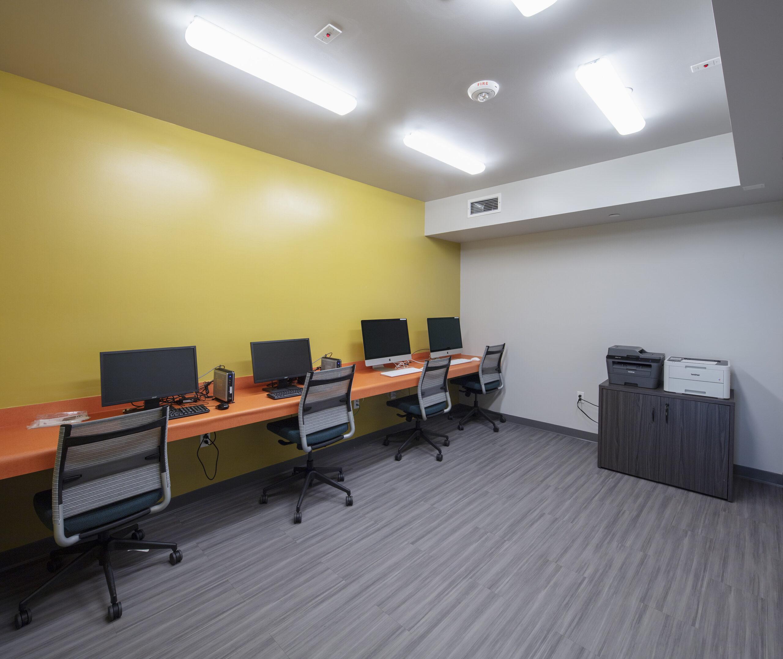 Carson arts apartment computer room